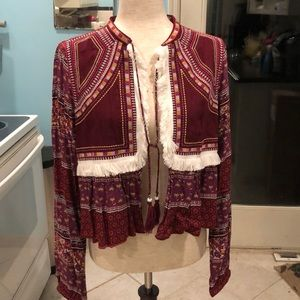 Atmosphere Boho Embroidered Jacket